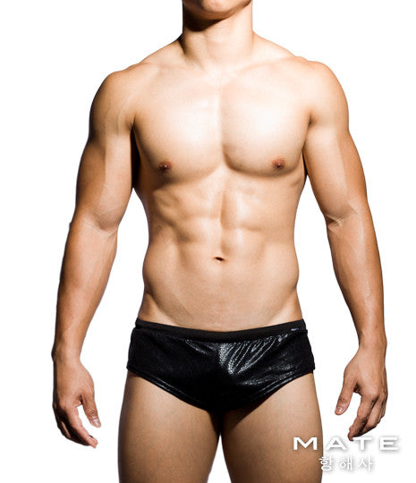 Very Sexy Ultra Lounge Shorts - Gi Joon (Black Reptile) - Shop Sexy Men's Underwear, Sexy Men's Swimwear, Sportswear and Loungewear. Shop Skimpy Micro Bikinis, Mini G-Strings, Extreme Thongs, Sexy Jockstraps and More by MATEGEAR