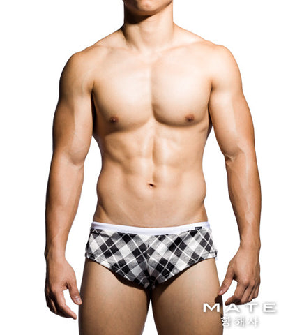 Very Sexy Ultra Lounge Shorts - Gi Joon (Big Chequered)