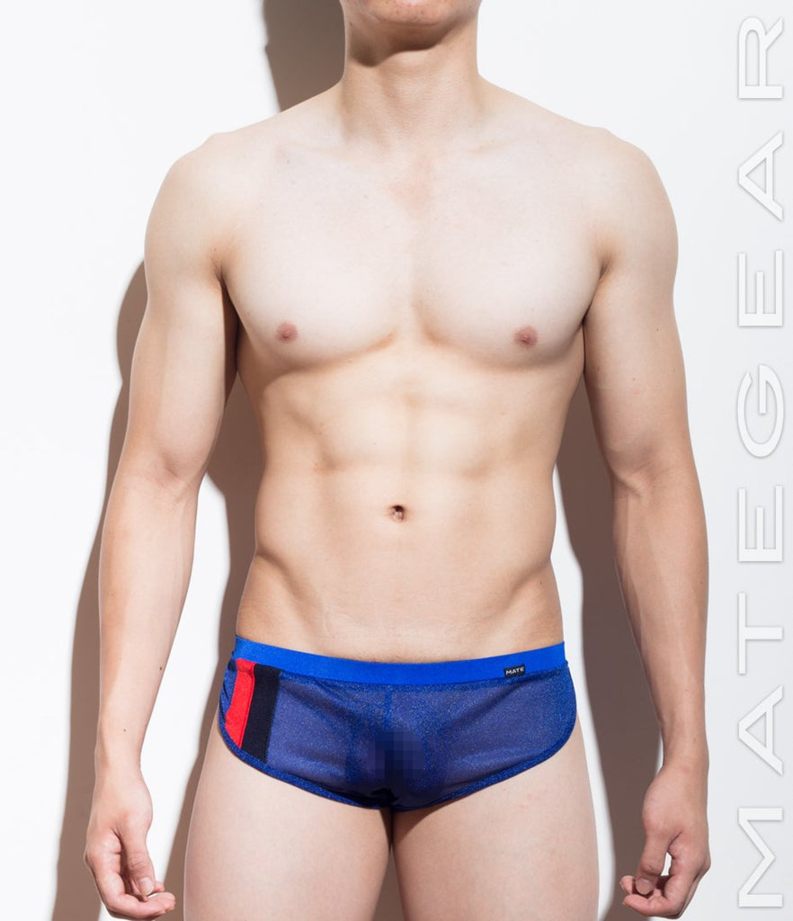 MATEGEAR - Sexy Men's Swimwear, Underwear, Sportswear and Loungewear - Extremely Sexy Mini Shorts - Paek Jung (Translucent Series)