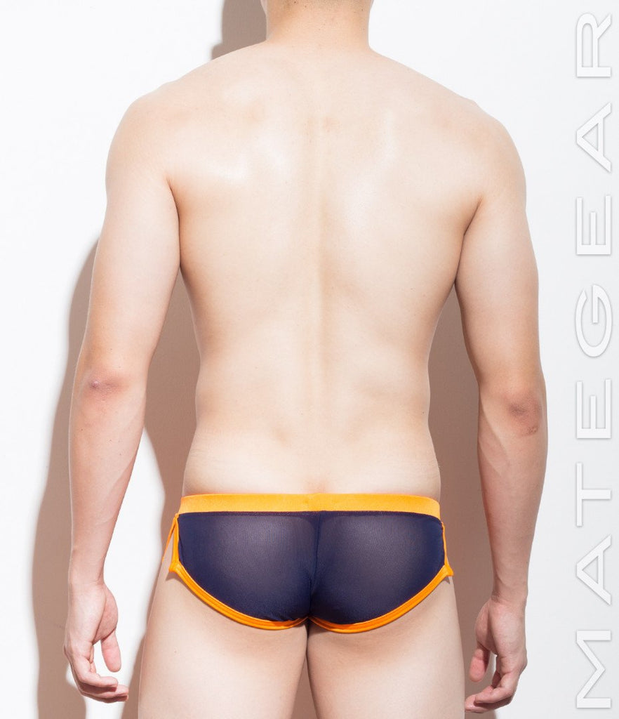 MATEGEAR - Sexy Men's Swimwear, Underwear, Sportswear and Loungewear - Extremely Sexy Mini Shorts - Ro Du (Mesh Series)