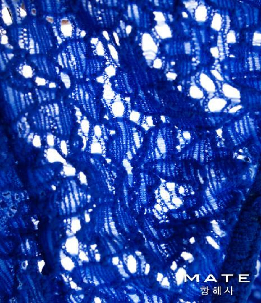 MATEGEAR - Sexy Men's Swimwear, Underwear, Sportswear and Loungewear - Mini Bikini - Min Kyu (Royal Lace)