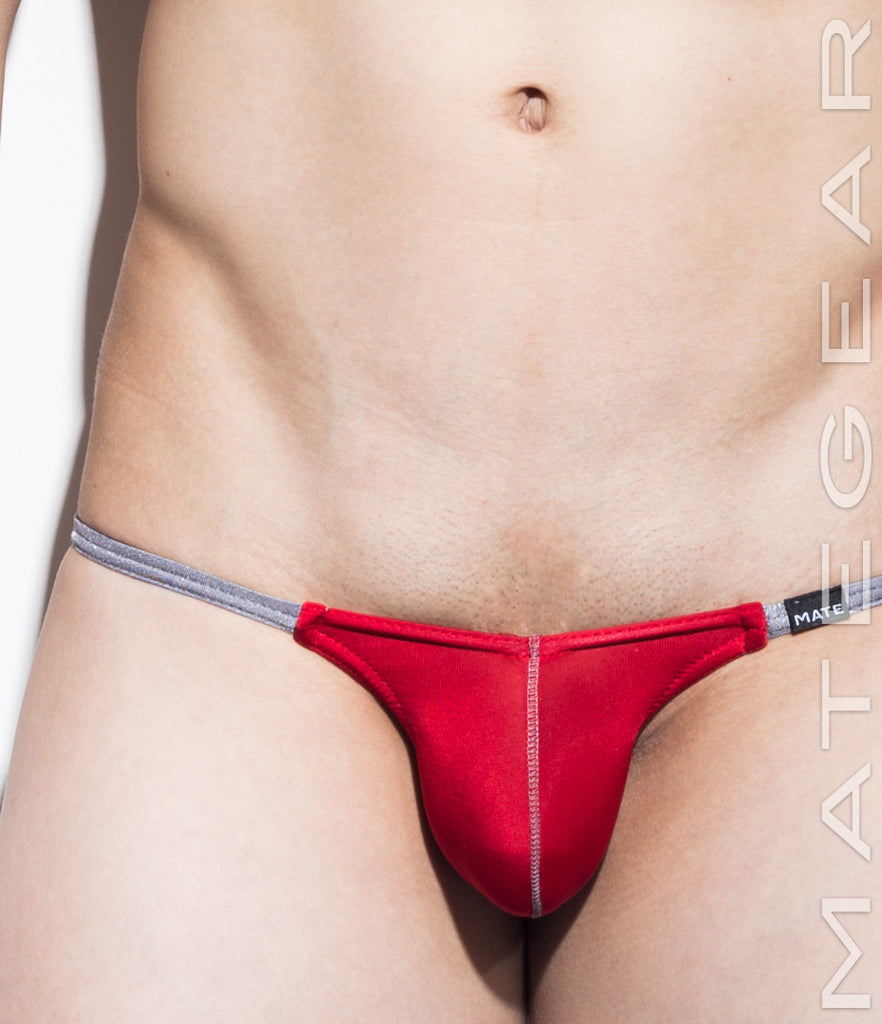 Sexy Men's Swimwear Mini Swim Jockstrap - Wu Young - MATEGEAR - Sexy Men's Swimwear, Underwear, Sportswear and Loungewear