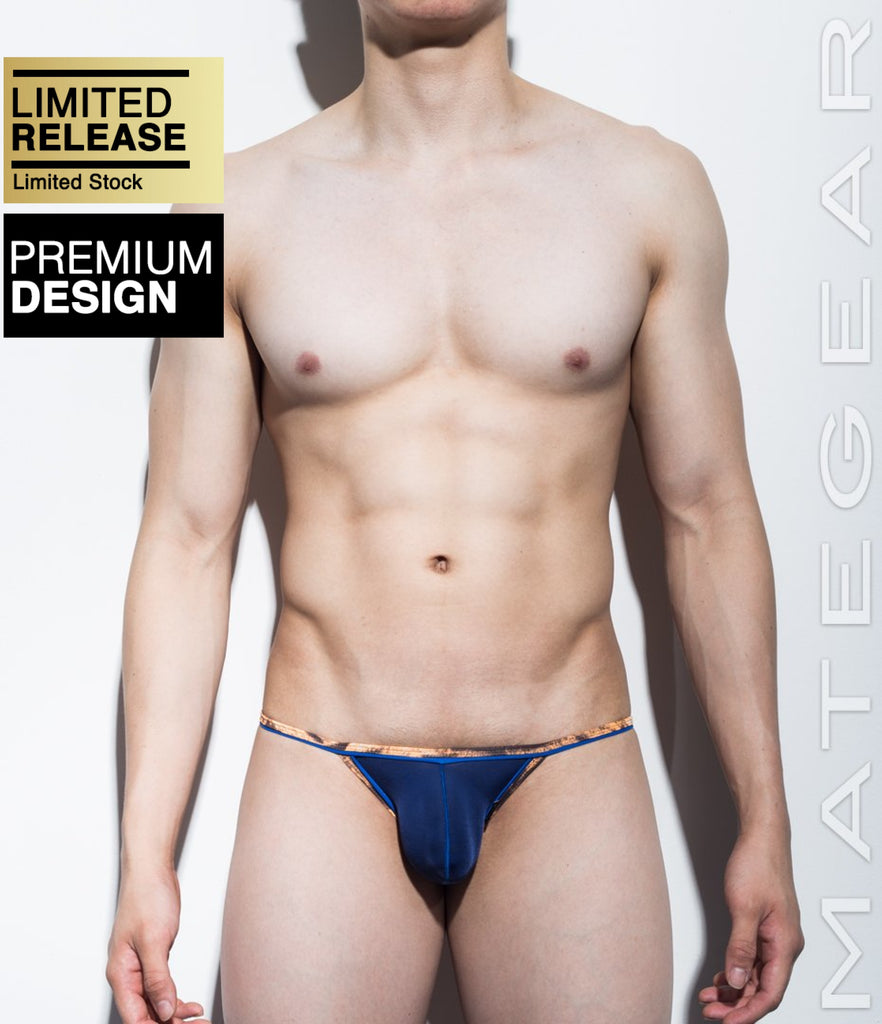 MATEGEAR - Sexy Men's Swimwear, Underwear, Sportswear and Loungewear - Mini Pouch Bikini - Mok Ji III (Ultra Thin Nylon Series)