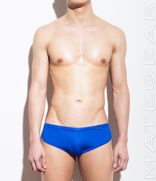 Signature Mini Shorts - Ki Nam (Royal Air Nylon) - Shop Sexy Men's Underwear, Sexy Men's Swimwear, Sportswear and Loungewear. Shop Skimpy Micro Bikinis, Mini G-Strings, Extreme Thongs, Sexy Jockstraps and More by MATEGEAR