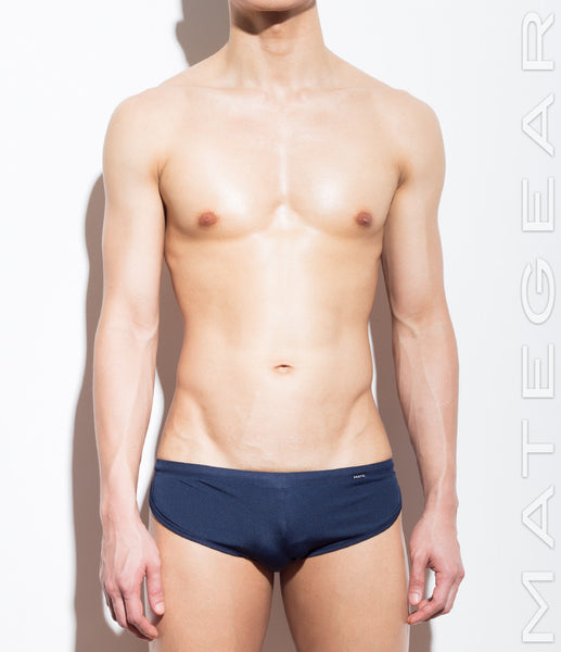 Signature Mini Shorts - Ki Nam (Navy Air Nylon) - Shop Sexy Men's Underwear, Sexy Men's Swimwear, Sportswear and Loungewear. Shop Skimpy Micro Bikinis, Mini G-Strings, Extreme Thongs, Sexy Jockstraps and More by MATEGEAR