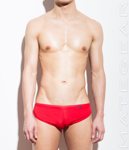 Extremely Sexy Mini Shorts - Ki Nam (Red Air Nylon)