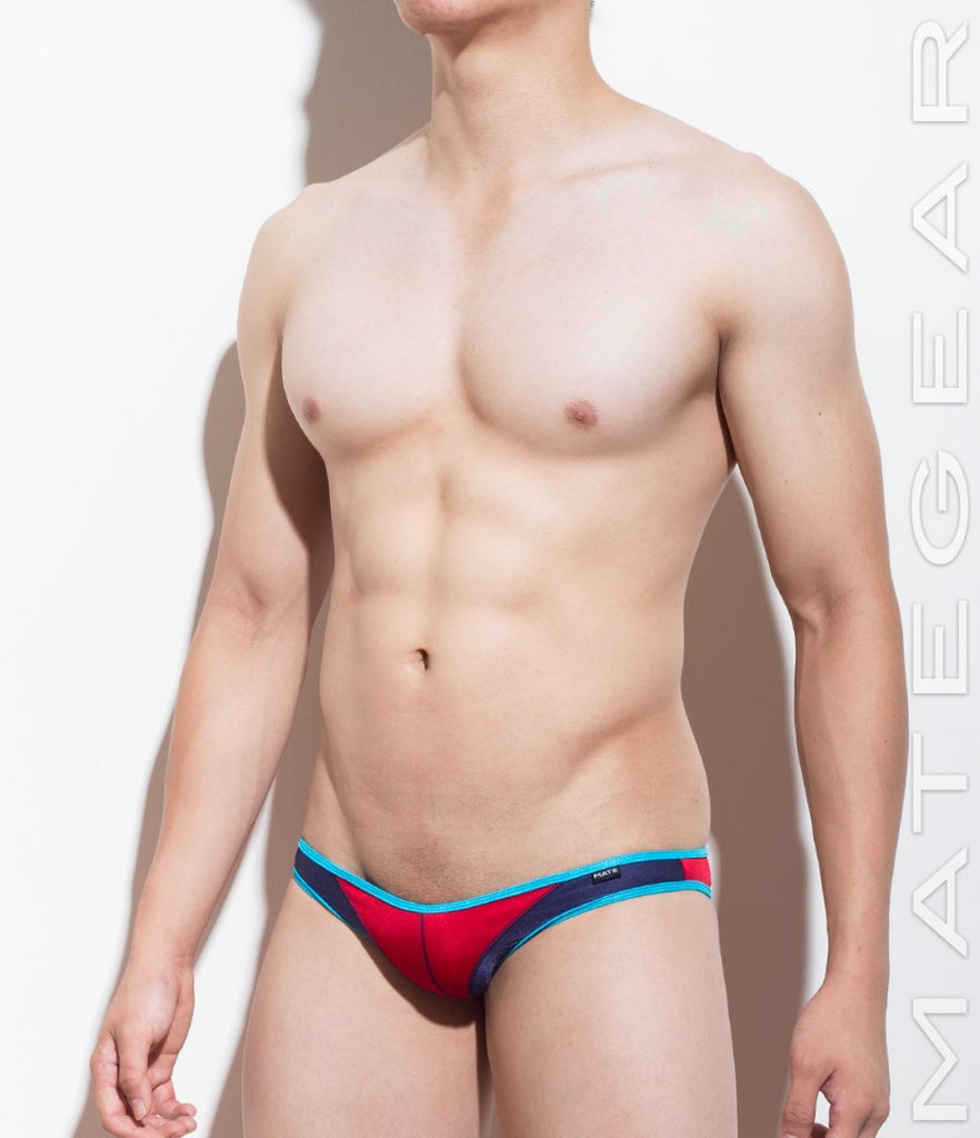 MATEGEAR - Sexy Men's Swimwear, Underwear, Sportswear and Loungewear - Mini Swim Bikini - Rim Jung (Flat Front / Half Back)