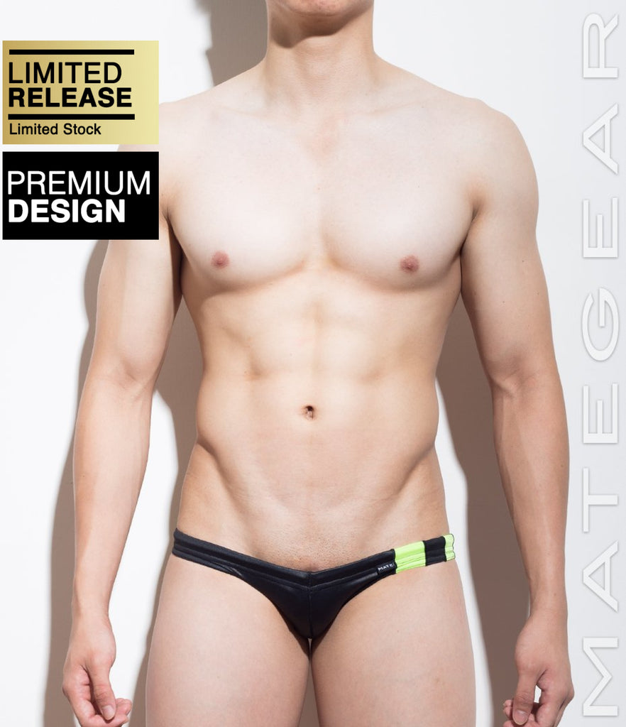 MATEGEAR - Sexy Men's Swimwear, Underwear, Sportswear and Loungewear - Mini Swim Bikini - Si Ki (Flat Front)