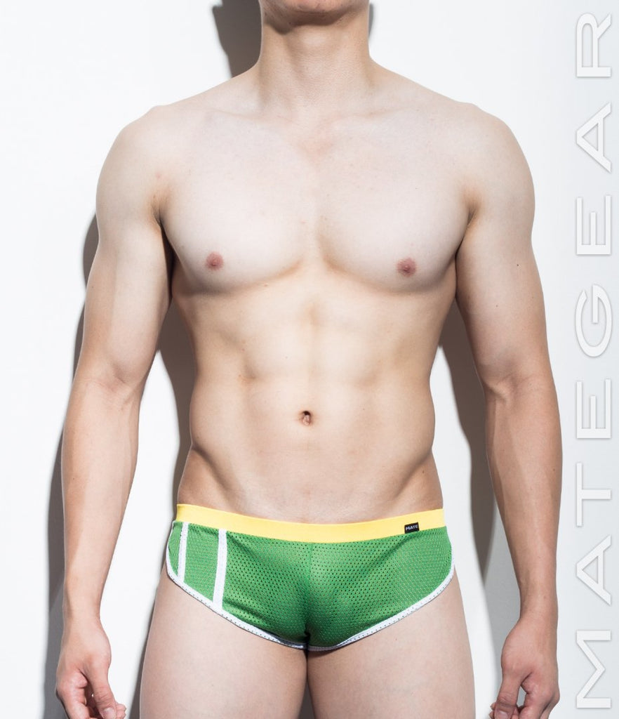MATEGEAR - Sexy Men's Swimwear, Underwear, Sportswear and Loungewear - Extremely Sexy Mini Shorts - Im Hyun (Sports Mesh Series II)