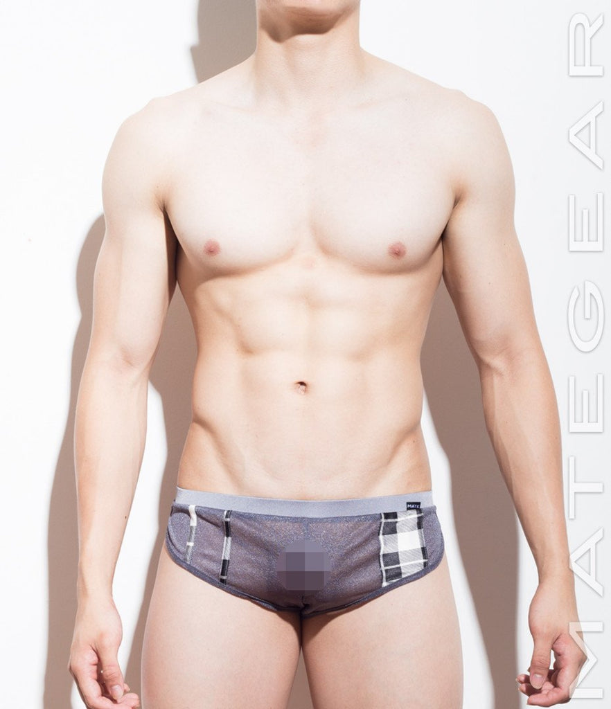 Extremely Sexy Mini Shorts - Jae Hui (Translucent Series) - MATEGEAR - Sexy Men's Swimwear, Underwear, Sportswear and Loungewear