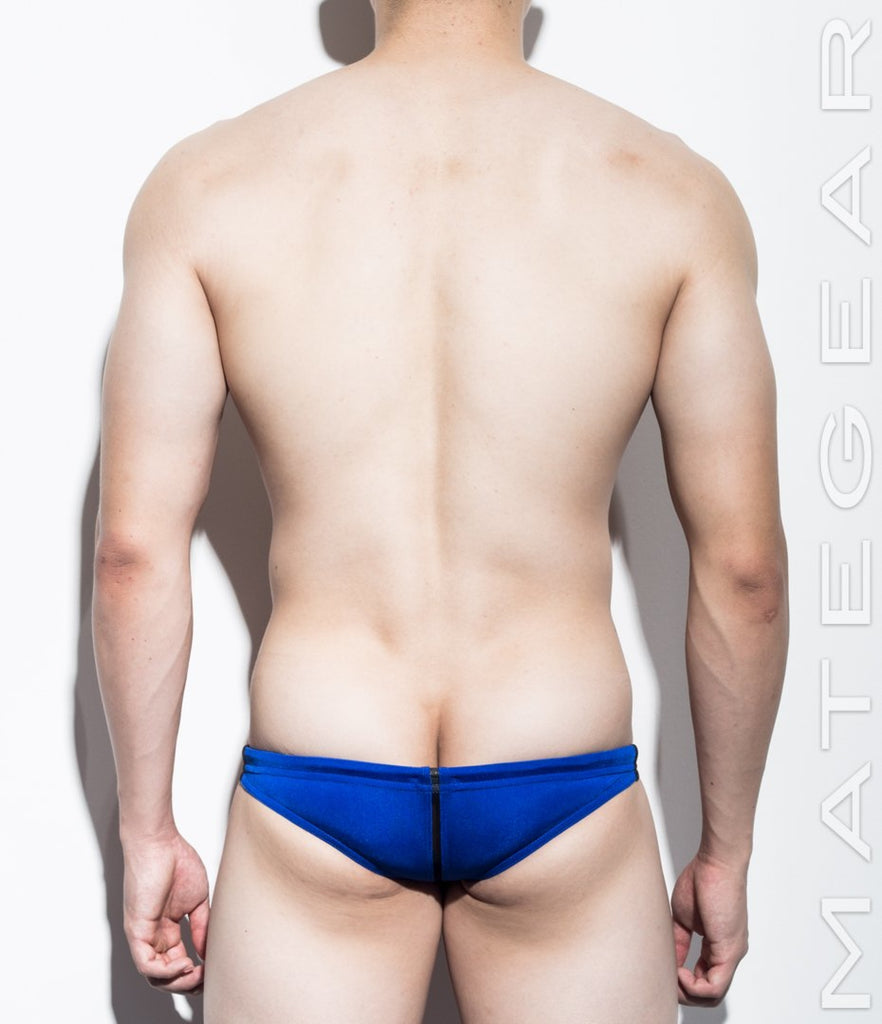 MATEGEAR - Sexy Men's Swimwear, Underwear, Sportswear and Loungewear - SALE! Sexy Men's Swimwear Mini Swim Bikini - Woo Jin (Flat Front / Half Back)