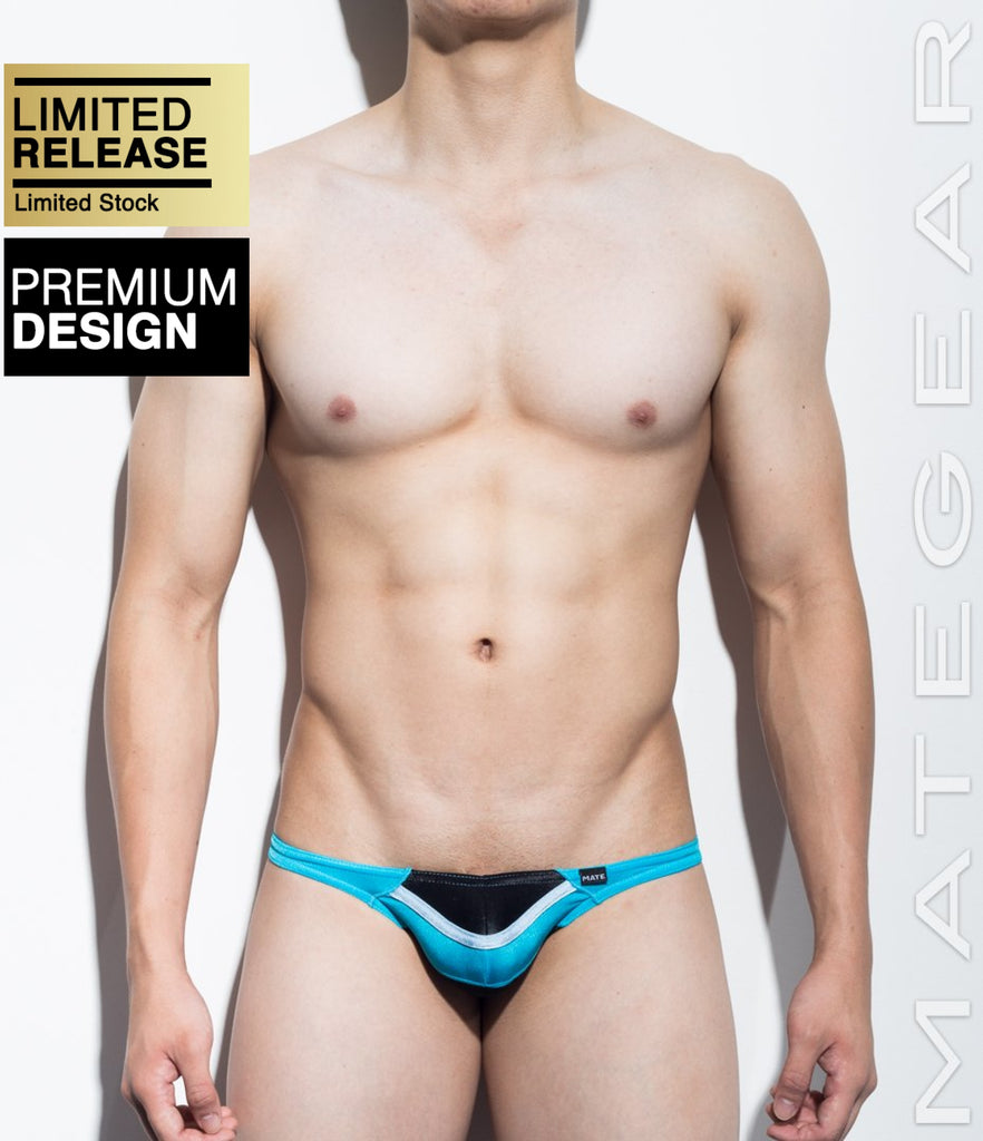 MATEGEAR - Sexy Men's Swimwear, Underwear, Sportswear and Loungewear - Sexy Men's Swimwear Mini Swim Bikini - Young Hwan (Half Back) (Series II)