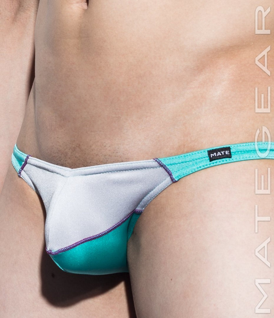 MATEGEAR - Sexy Men's Swimwear, Underwear, Sportswear and Loungewear - Sexy Mens Swimwear Mini Swim Bulge Bikini - Roe Young (Solid Series)