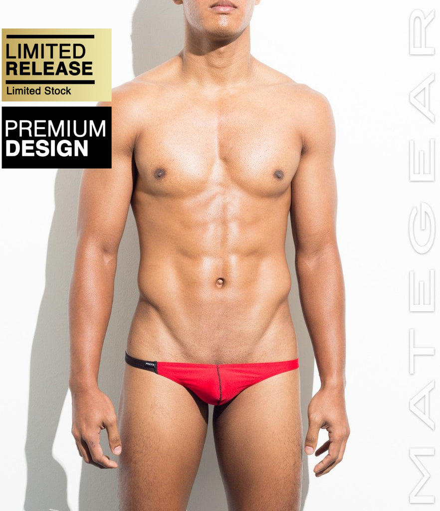 MATEGEAR - Sexy Men's Swimwear, Underwear, Sportswear and Loungewear - Sexy Men's Swimwear Mini Swim Thongs - Hee Joon