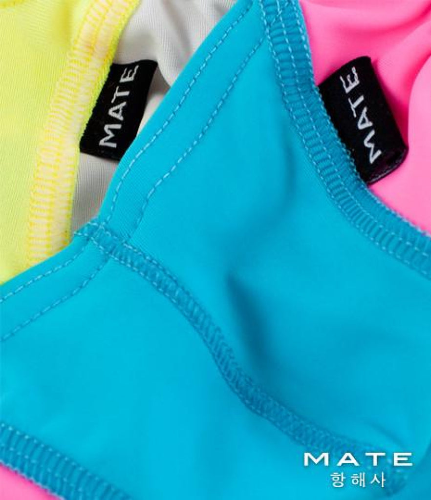 MATEGEAR - Sexy Men's Swimwear, Underwear, Sportswear and Loungewear - Sexy Mens Swimwear Mini Thongs - Seong Su (Sky Blue)