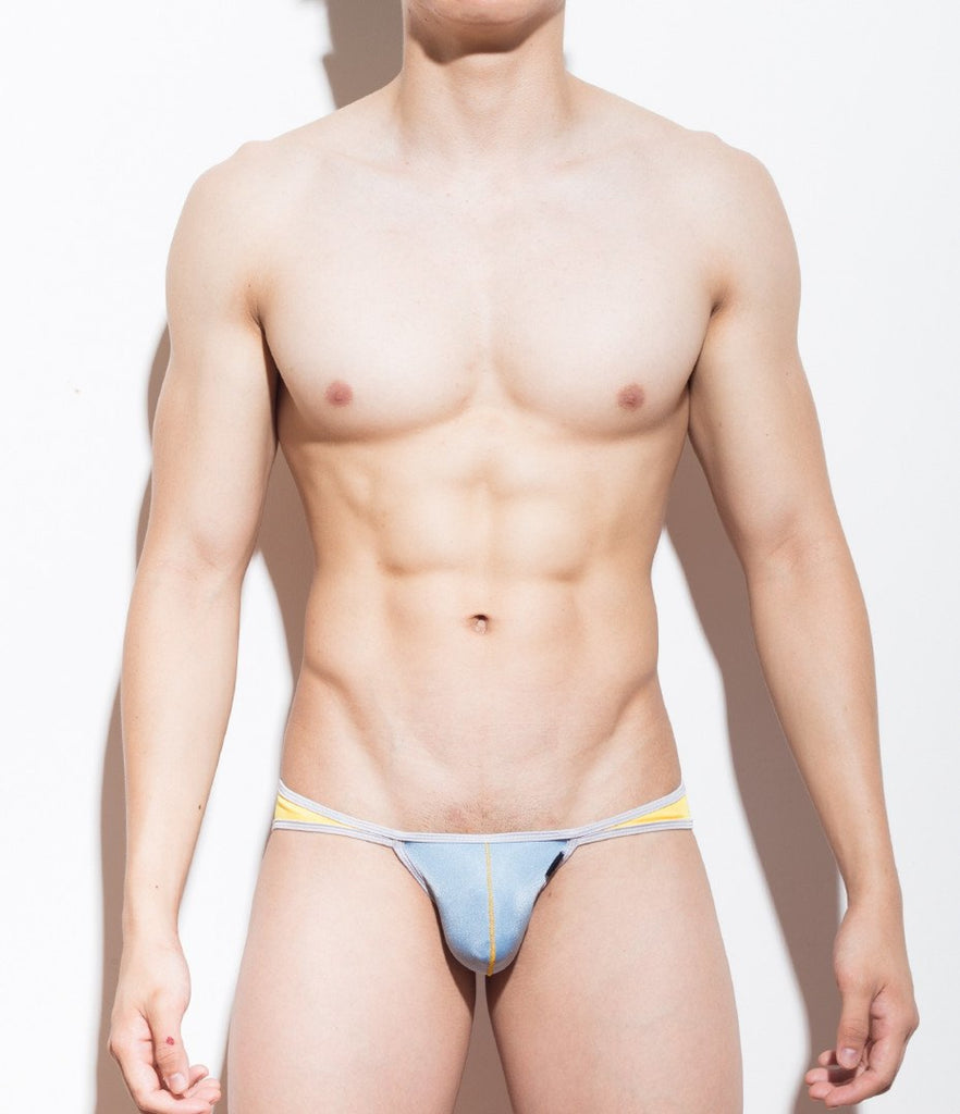 Sexy Mens Swimwear Ultra Bikini - Ryuk Si (Low-Rise Front) - MATEGEAR - Sexy Men's Swimwear, Underwear, Sportswear and Loungewear