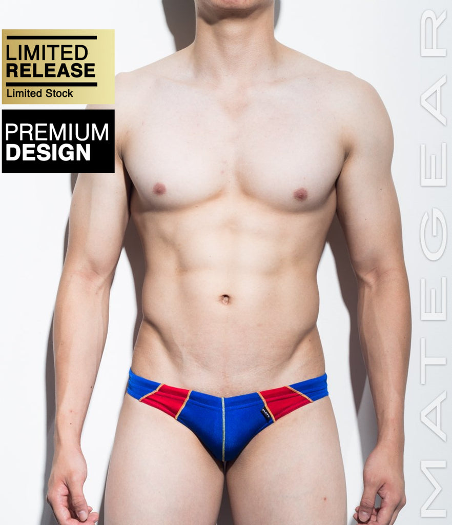 MATEGEAR - Sexy Men's Swimwear, Underwear, Sportswear and Loungewear - SALE! Sexy Men's Swimwear Ultra Swim Bikini - Mo Jae (Flat Front) (Series II)