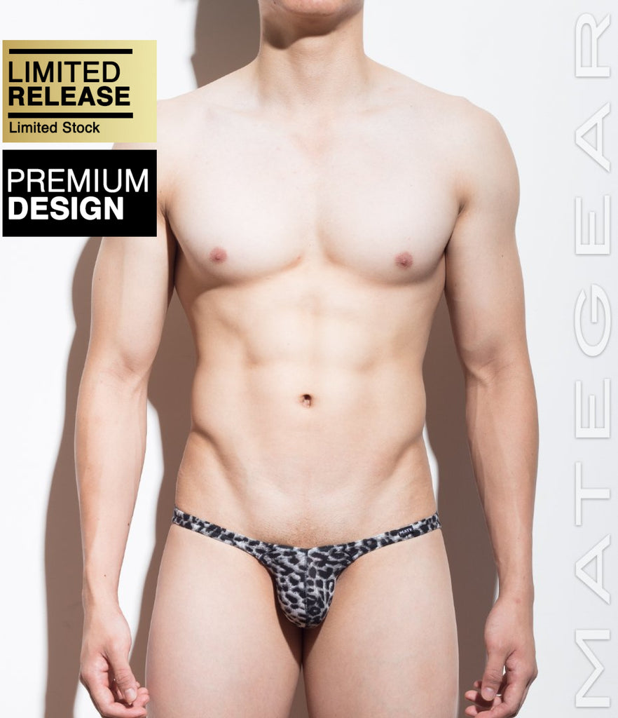 Sexy Men's Swimwear Ultra Swim Pouch Bikini - Nan Song (Tapered Sides / V-Front) (Special Fabric Series) - MATEGEAR - Sexy Men's Swimwear, Underwear, Sportswear and Loungewear