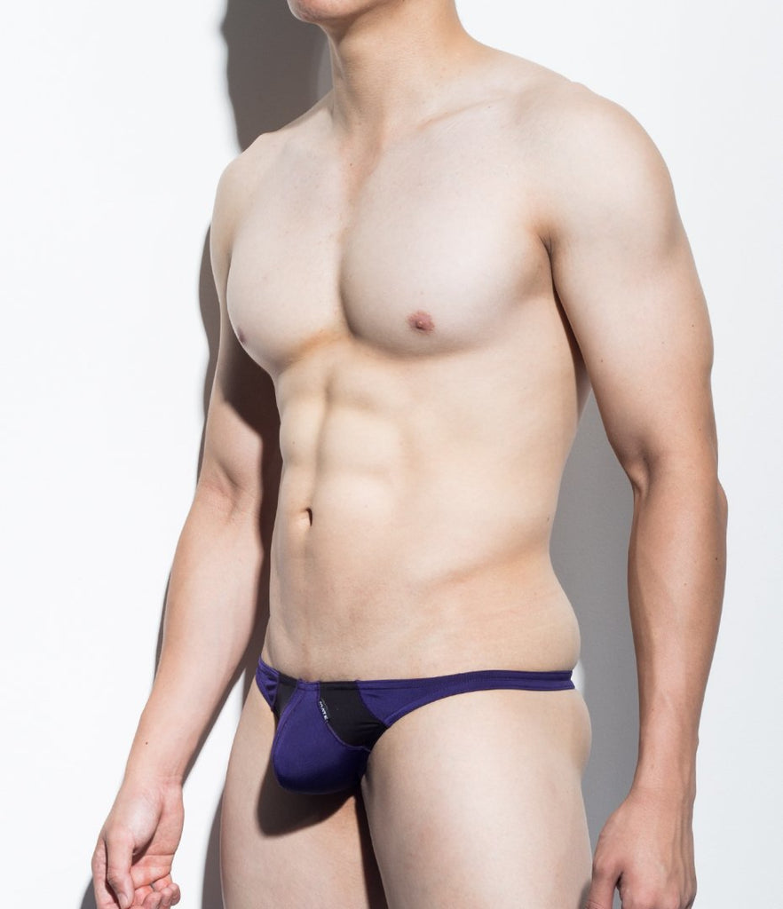 MATEGEAR - Sexy Men's Swimwear, Underwear, Sportswear and Loungewear - Sexy Mens Underwear Bulge Mini Thongs - Hu Jung