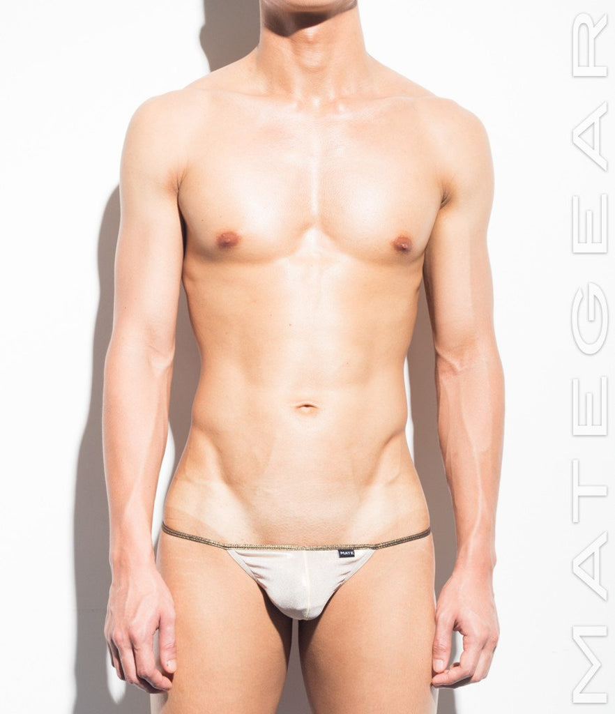 Sexy Men's Underwear Extreme Mini Thongs - Ru Yeon - MATEGEAR - Sexy Men's Swimwear, Underwear, Sportswear and Loungewear