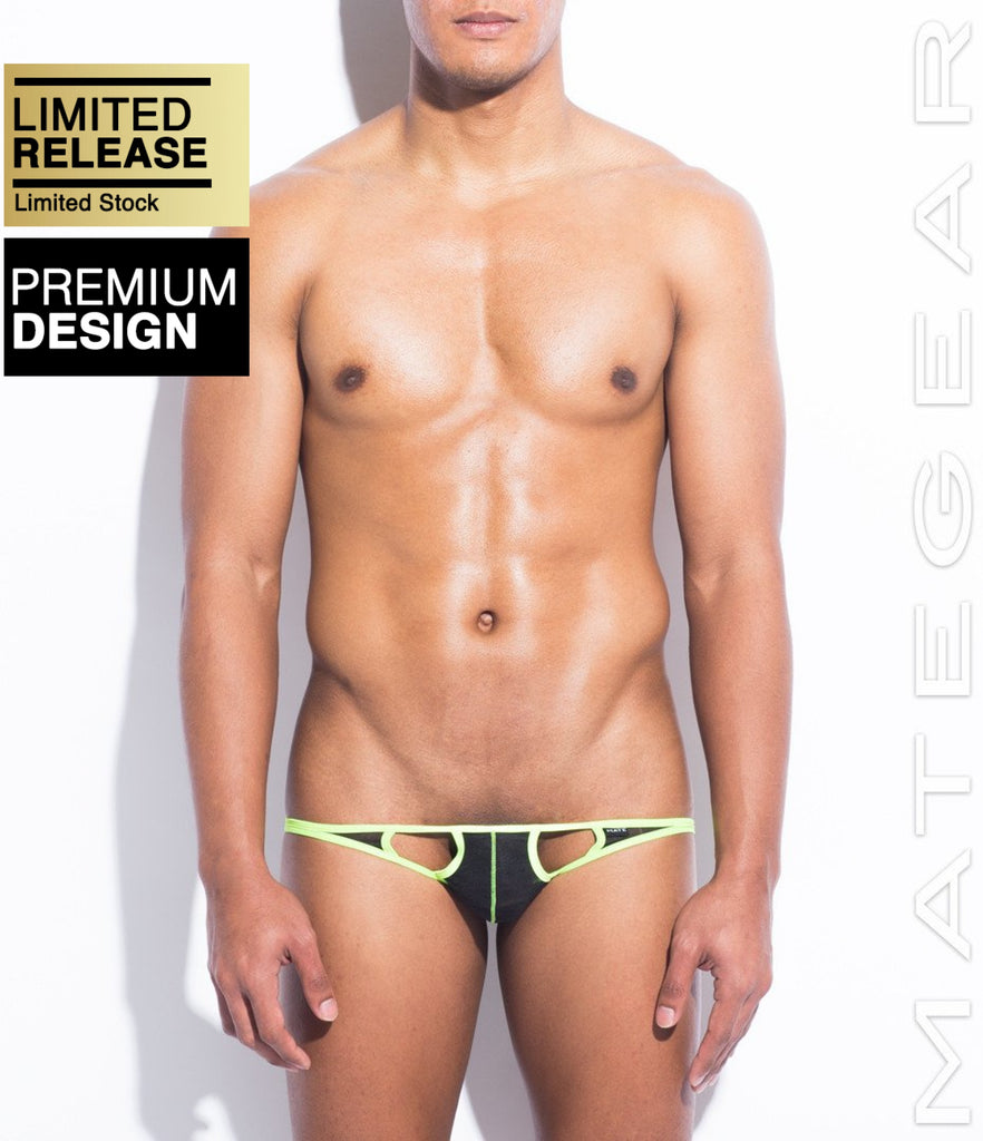 MATEGEAR - Sexy Men's Swimwear, Underwear, Sportswear and Loungewear - SALE! Sexy Men's Underwear Extremely Sexy Mini Bikini - Joo Won (Translucent Black)