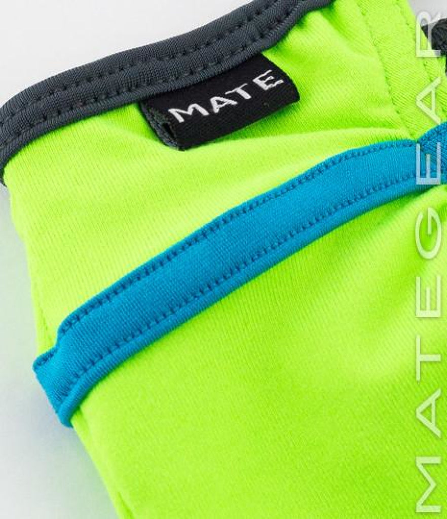MATEGEAR - Sexy Men's Swimwear, Underwear, Sportswear and Loungewear - Sexy Mens Underwear Maximizer Mini Bikini - Won Ho (Lime Cotton)