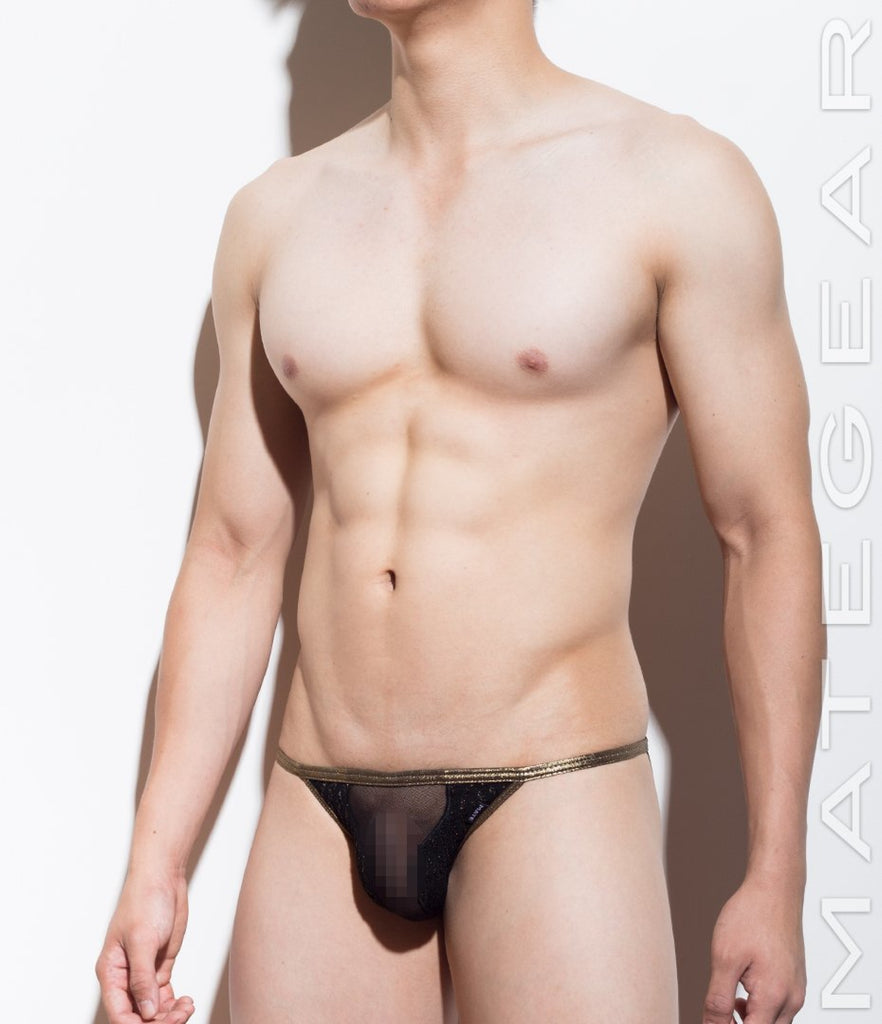 Sexy Mens Underwear Xpression Ultra Bikini - Kan Ji (Special Fabrics Series) - MATEGEAR - Sexy Men's Swimwear, Underwear, Sportswear and Loungewear