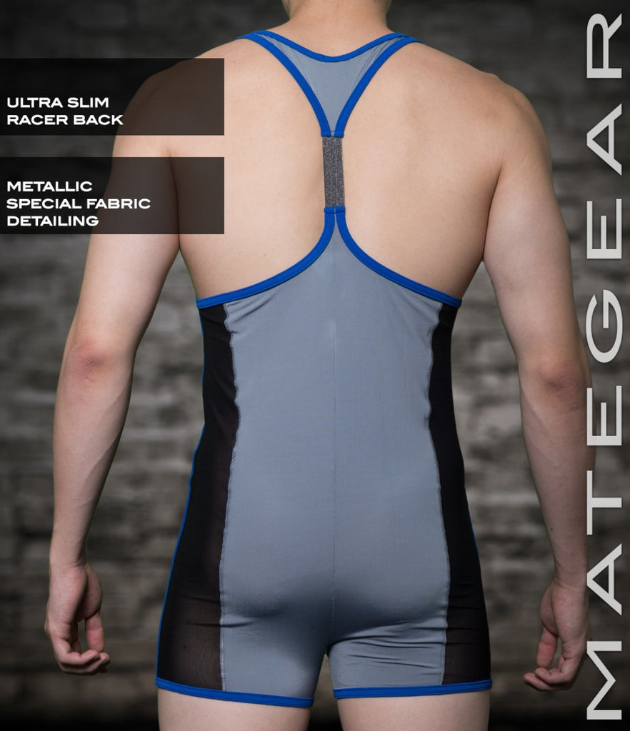 MATEGEAR - Sexy Men's Swimwear, Underwear, Sportswear and Loungewear - Sexy Men's Sportswear Xpression Racer Wrestler - Ree Chung