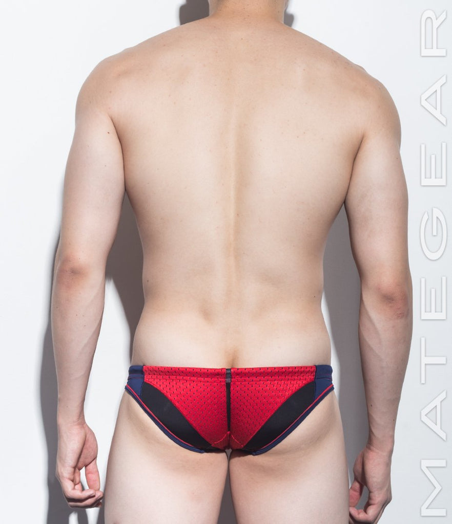 Sexy Men's Swimwear Mini Swim Bikini - Dam Hyun (With Lining) - MATEGEAR - Sexy Men's Swimwear, Underwear, Sportswear and Loungewear