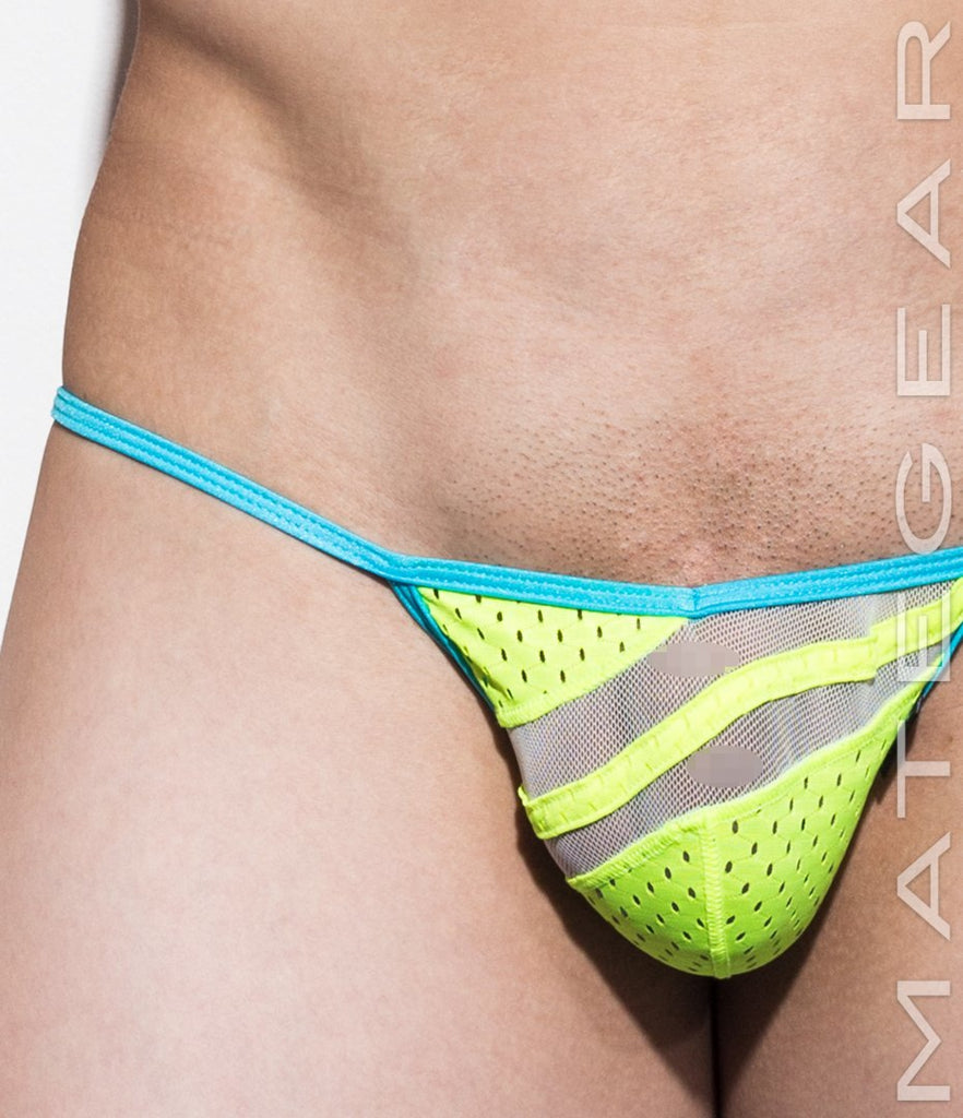 MATEGEAR - Sexy Men's Swimwear, Underwear, Sportswear and Loungewear - Sexy Men's Swimwear Mini Swim Bikini - Nam Woo XV (Special Fabric Series)