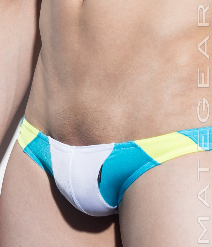 Sexy Men's Swimwear Mini Swim Bikini - So Nam IV (Flat Front / Half Back) - MATEGEAR - Sexy Men's Swimwear, Underwear, Sportswear and Loungewear