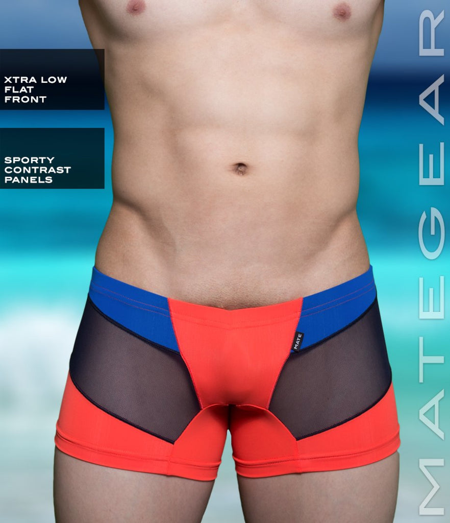 Sexy Men's Swimwear Mini Swim Jammers - Bi Hyun (X-tra Low Flat Front) - MATEGEAR - Sexy Men's Swimwear, Underwear, Sportswear and Loungewear