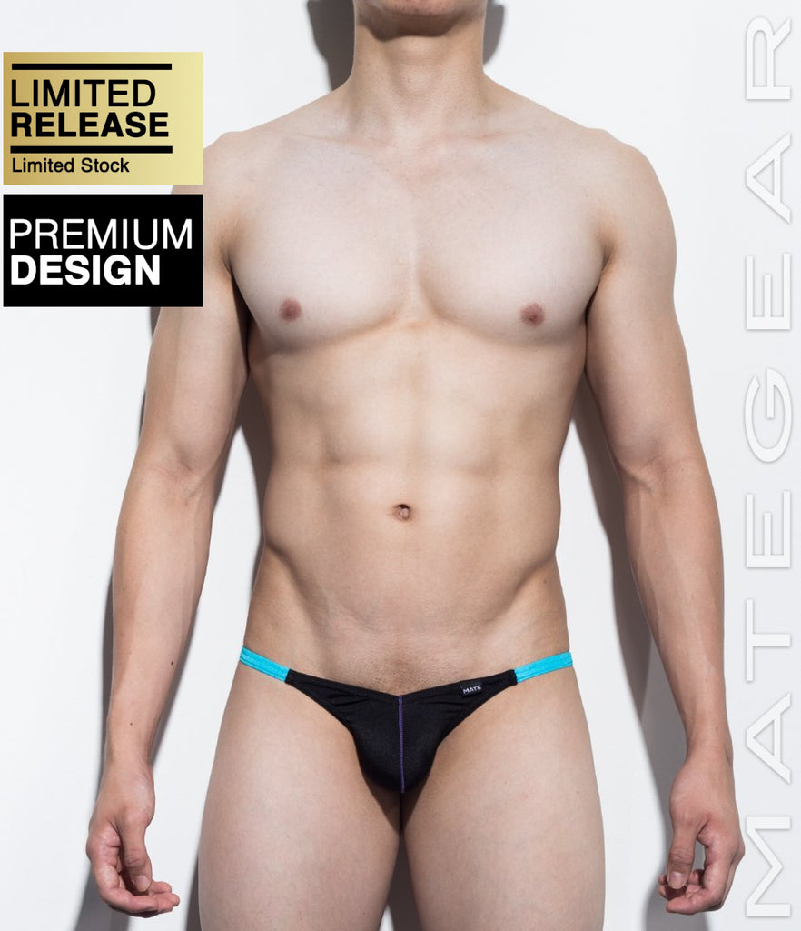 MATEGEAR - Sexy Men's Swimwear, Underwear, Sportswear and Loungewear - Sexy Men's Swimwear Mini Swim Pouch Bikini - Mok Ji II