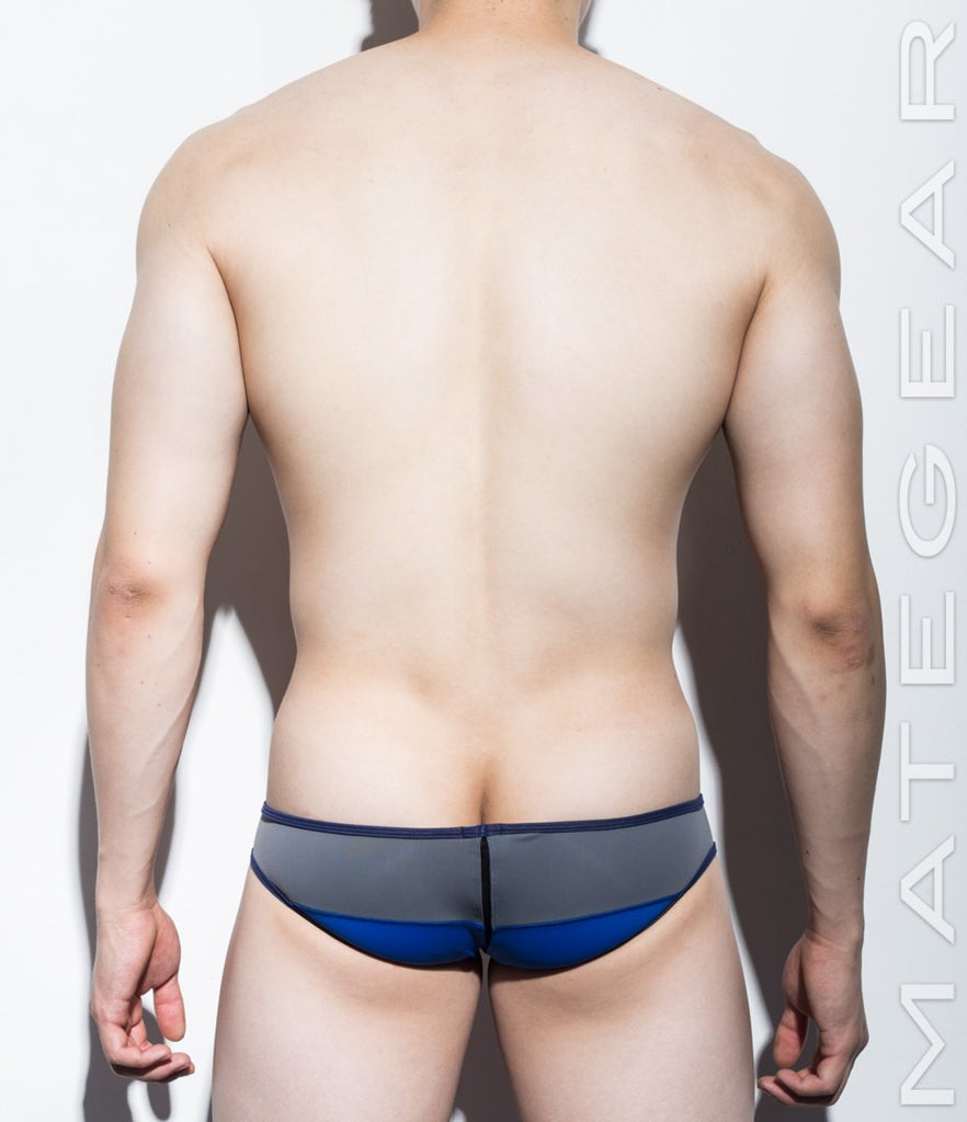 MATEGEAR - Sexy Men's Swimwear, Underwear, Sportswear and Loungewear - Sexy Men's Swimwear Mini Swim Squarecut - Ka Ha III (Reduced Sides)