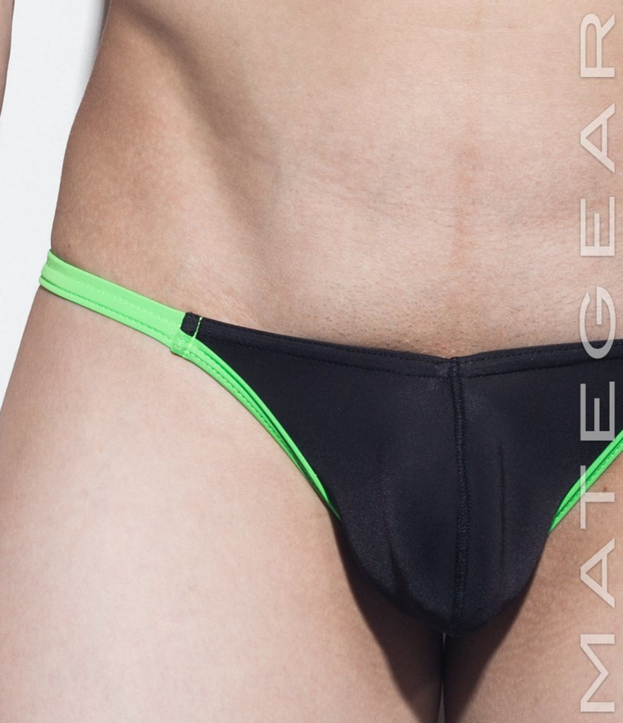 Sexy Men's Swimwear Ultra Swim Bikini - Nam Gi (Enhanced Front Bulge) - MATEGEAR - Sexy Men's Swimwear, Underwear, Sportswear and Loungewear