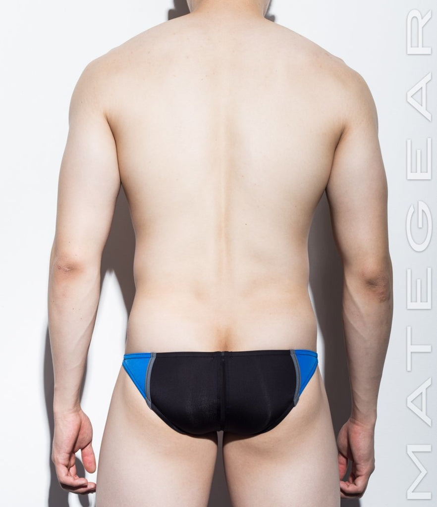 MATEGEAR - Sexy Men's Swimwear, Underwear, Sportswear and Loungewear - Sexy Men's Swimwear Ultra Swim Pouch Bikini - Sang Jun III (Ultra Thin Nylon Series)