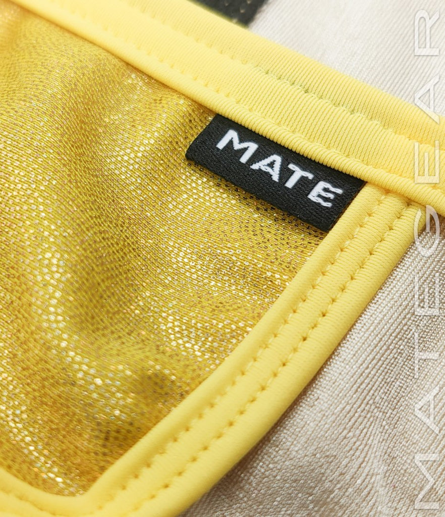 MATEGEAR - Sexy Men's Swimwear, Underwear, Sportswear and Loungewear - Sexy Men's Swimwear Xpression Mini Swim Bikini - Kae Yong (Extra Low Front)