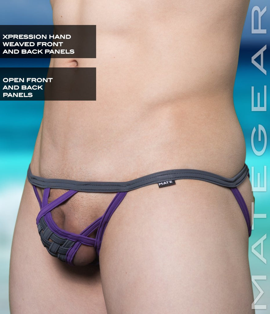 Sexy Men's Swimwear Xpression Mini Swim Bikini - Ran Jin (Hand Weaved Front and Back) - MATEGEAR - Sexy Men's Swimwear, Underwear, Sportswear and Loungewear
