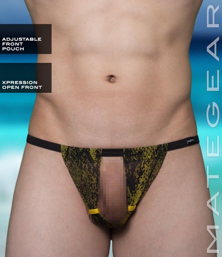 Sexy Men's Swimwear Xpression Ultra Swim Bikini - Bong Da (Adjustable Front and Back) - MATEGEAR - Sexy Men's Swimwear, Underwear, Sportswear and Loungewear