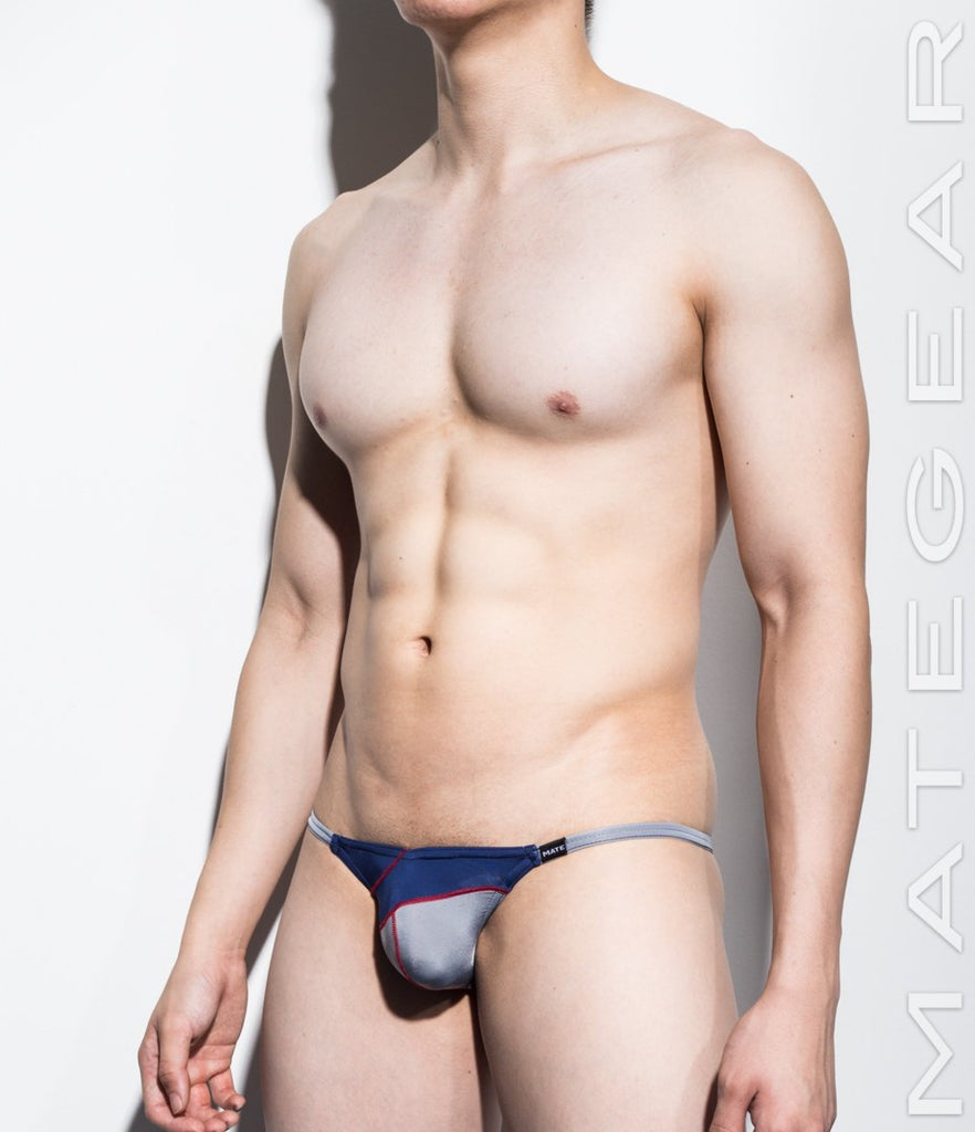 MATEGEAR - Sexy Men's Swimwear, Underwear, Sportswear and Loungewear - Sexy Men's Underwear Extremely Sexy Mini Bikini - Nam Woo (Ultra Thin Nylon I)