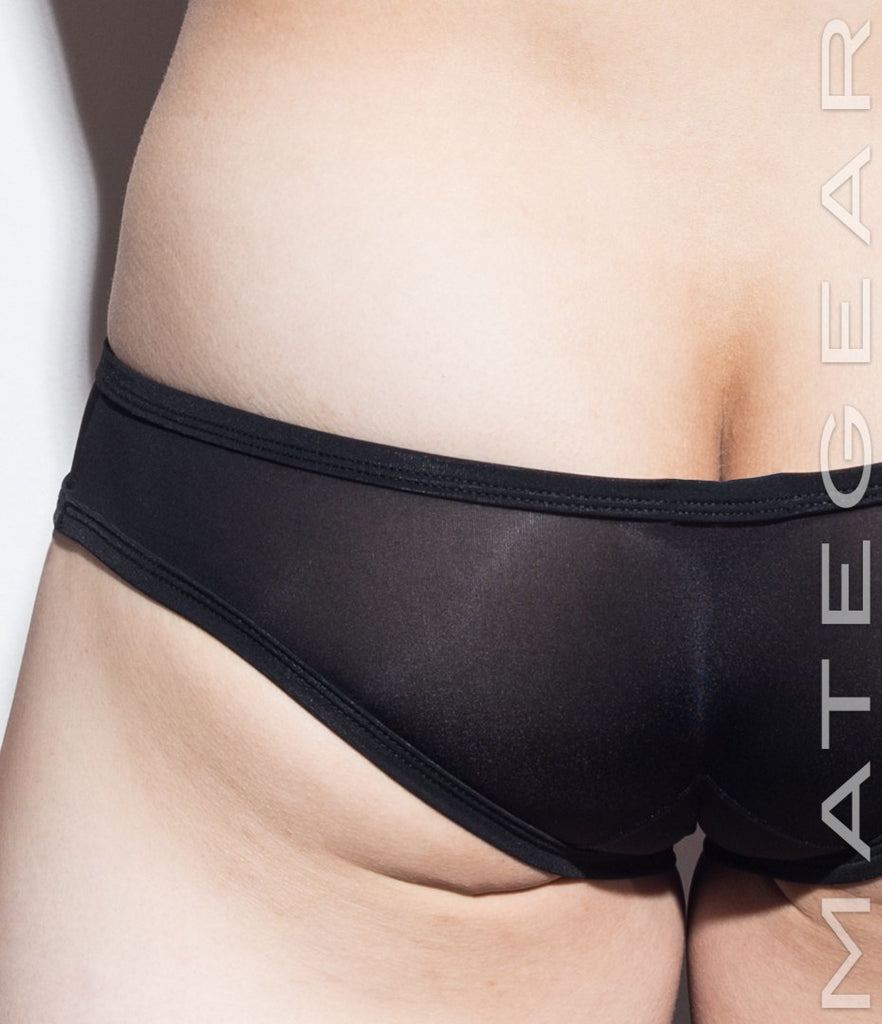 Sexy Men's Underwear Signature Mini Squarecut Trunks - Da Hee (Ultra Thin Nylon Series) - MATEGEAR - Sexy Men's Swimwear, Underwear, Sportswear and Loungewear