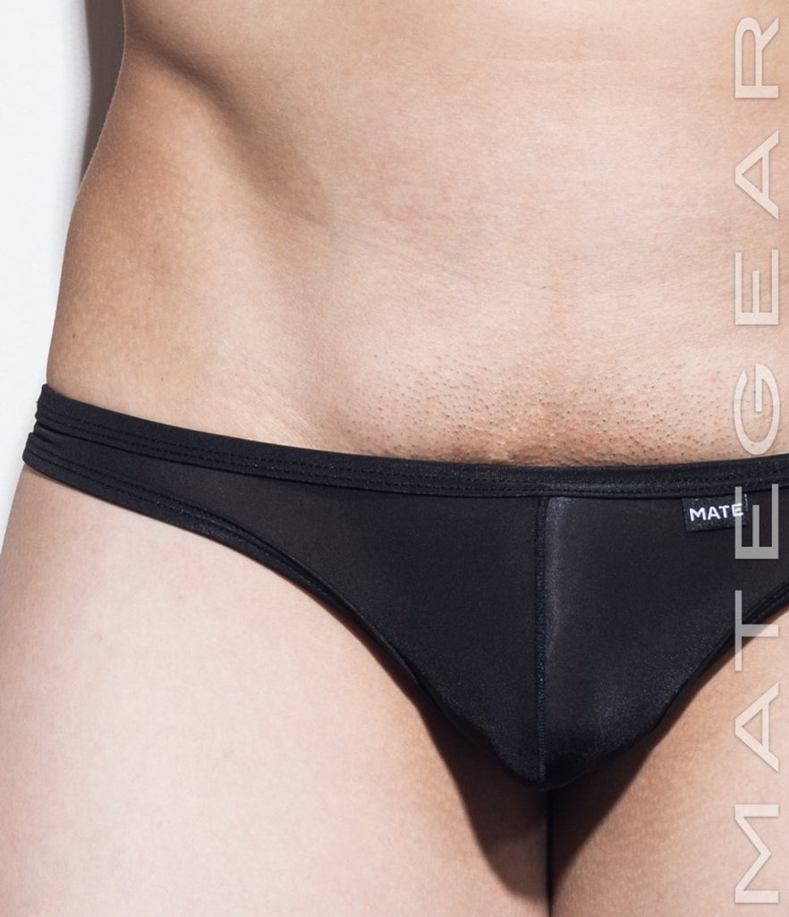 MATEGEAR - Sexy Men's Swimwear, Underwear, Sportswear and Loungewear - Sexy Men's Underwear Signature Mini Thongs - Young Ja (Ultra Thin Nylon Series)
