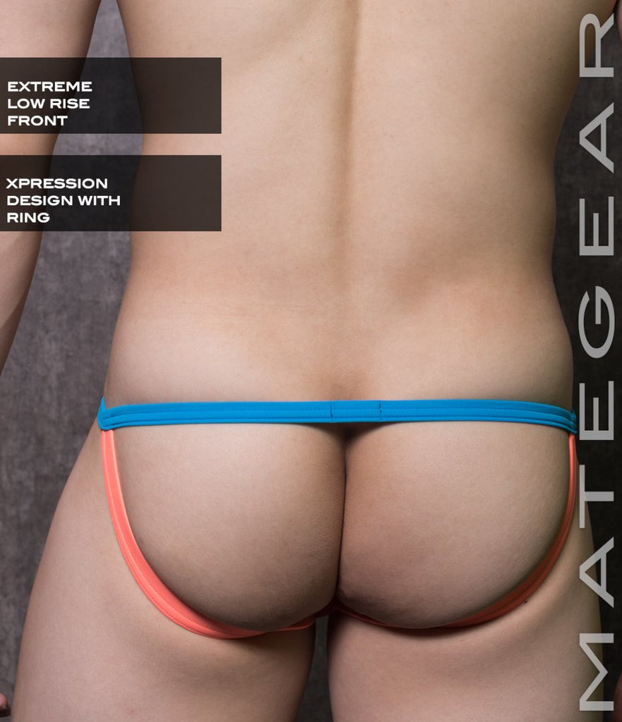 Sexy Mens Underwear Xpression Mini Jock - Tam Young (X-Tra Low Flat Front)