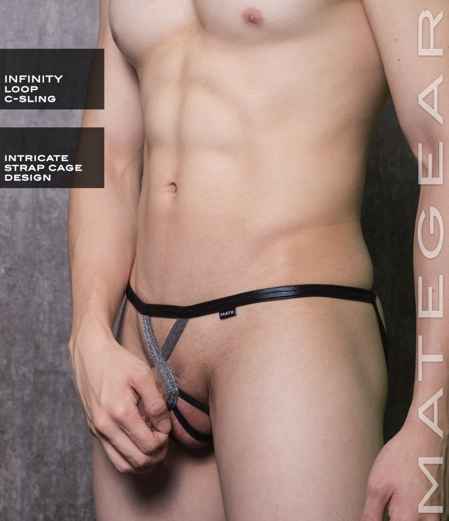 Sexy Men's Underwear Xpression Ultra Bikini - Gang Sun (Infinity Loop C-Sling) - MATEGEAR - Sexy Men's Swimwear, Underwear, Sportswear and Loungewear