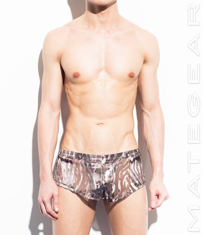 Very Sexy Ultra Chiffon Shorts - Jun Su - Shop Sexy Men's Underwear, Sexy Men's Swimwear, Sportswear and Loungewear. Shop Skimpy Micro Bikinis, Mini G-Strings, Extreme Thongs, Sexy Jockstraps and More by MATEGEAR