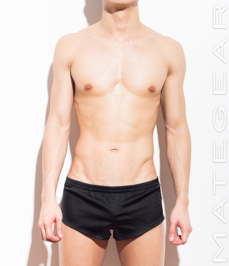 MATEGEAR - Sexy Men's Swimwear, Underwear, Sportswear and Loungewear - Very Sexy Ultra Silk Satin Shorts - Hong Gi (Colors Series)