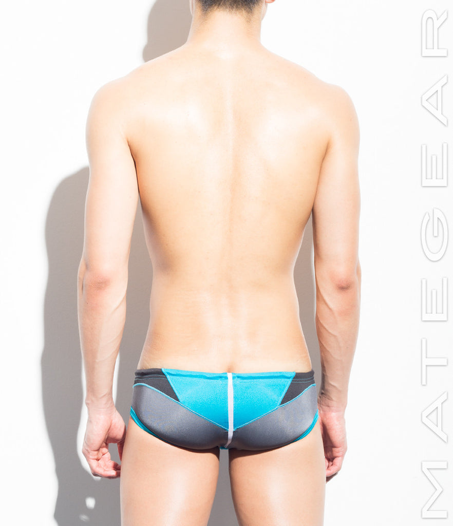 MATEGEAR - Sexy Men's Swimwear, Underwear, Sportswear and Loungewear - Sexy Mens Swimwear Very Sexy Ultra Swim Sunga Squarecuts - Suk Won