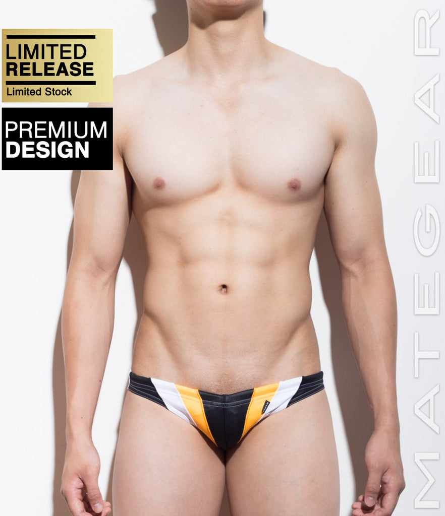 Ultra Swim Bikini - Mo Jae (Flat Front) - MATEGEAR - Sexy Men's Swimwear, Underwear, Sportswear and Loungewear