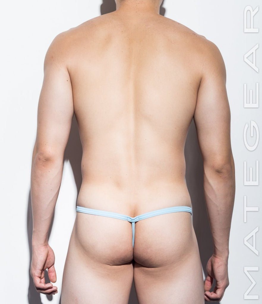 MATEGEAR - Sexy Men's Swimwear, Underwear, Sportswear and Loungewear - Very Sexy Ultra G - Mi Yong (Ultra Low Front / Ultra Thin Nylon Series)
