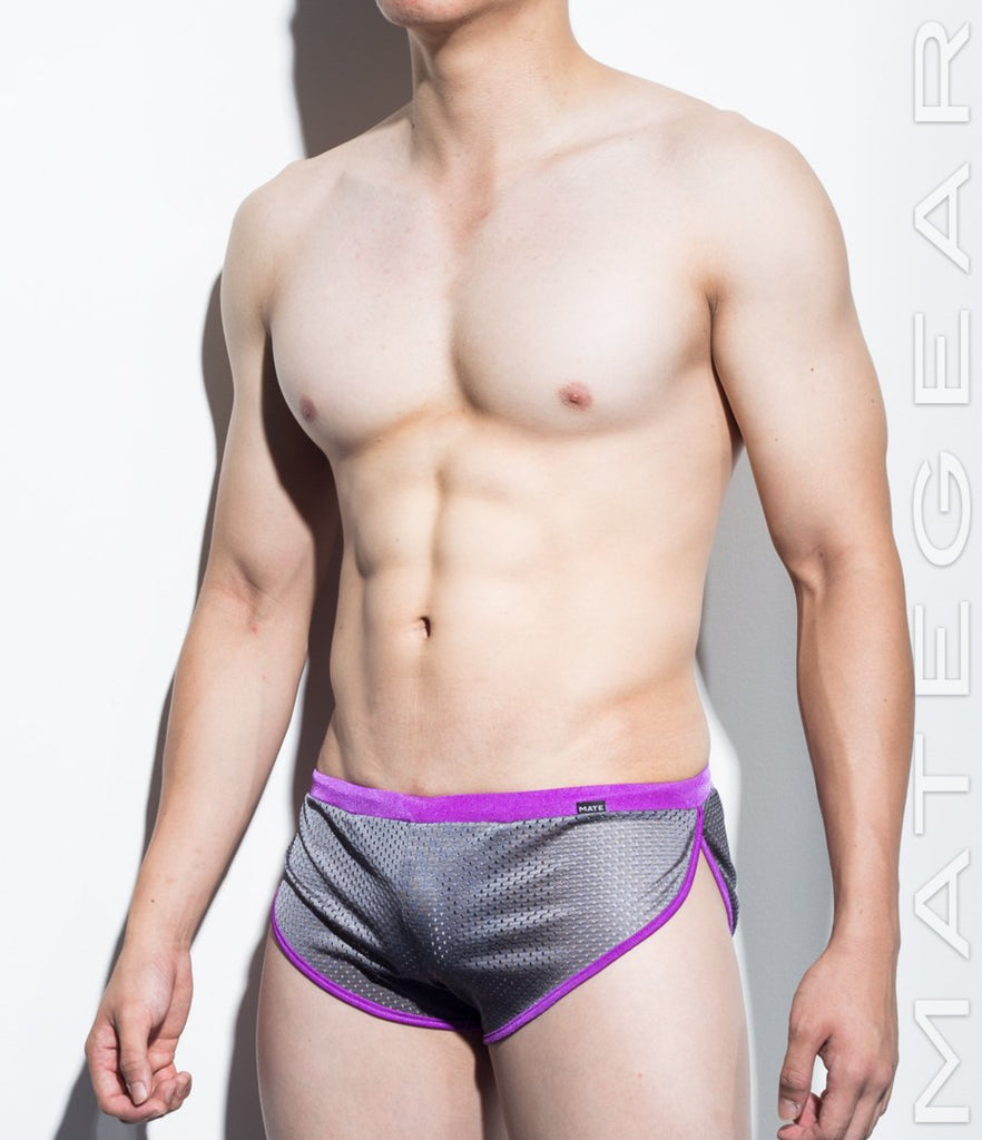 MATEGEAR - Sexy Men's Swimwear, Underwear, Sportswear and Loungewear - Very Sexy Ultra Shorts - Hwa Jin (Sports Mesh Series I)